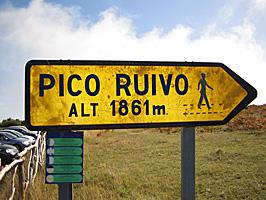 Zum Pico Ruivo