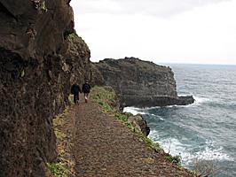 Zu den Anglern bei Sao Jorge